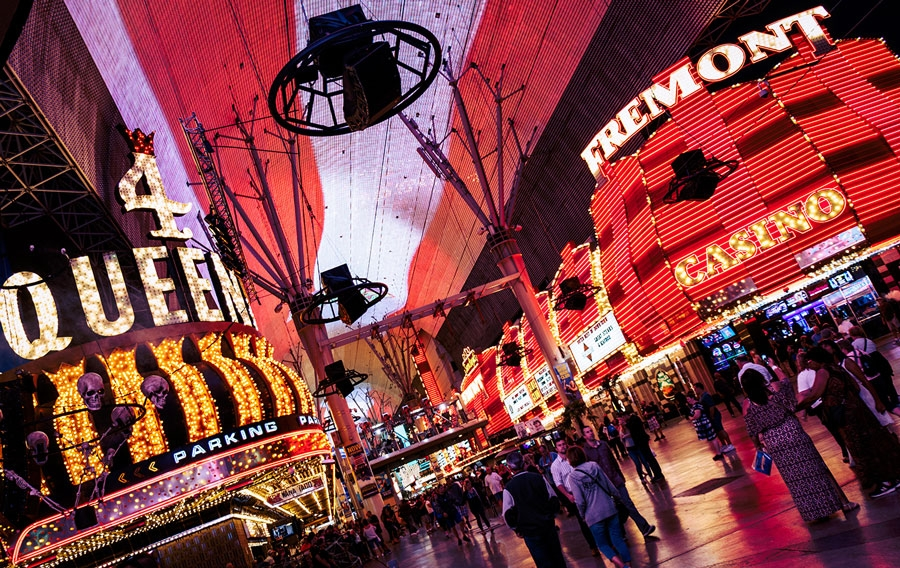 Fremont street canopy