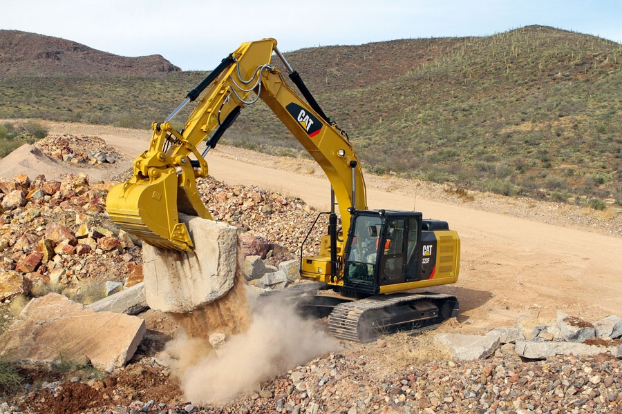 excavator attachments and parts