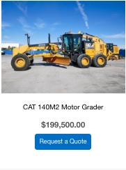 Cat 140M2 motor grader for sale