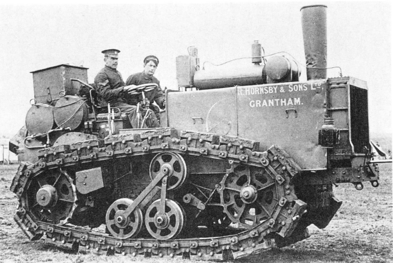 tractor from 1909