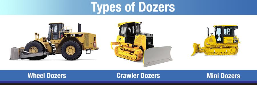 types of dozers