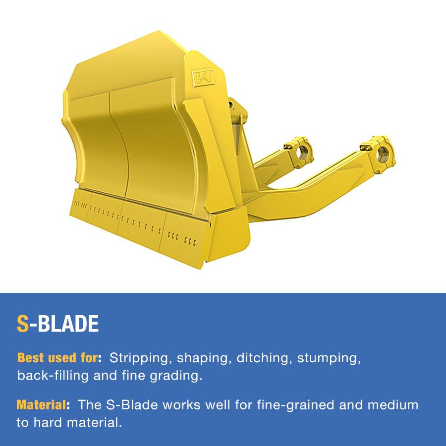 dozer s-blade