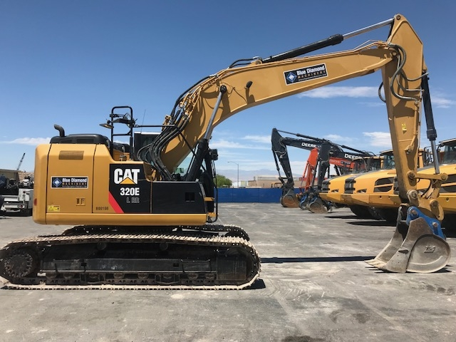Cat 320el Rr Excavator 108 For Sale Used Heavy